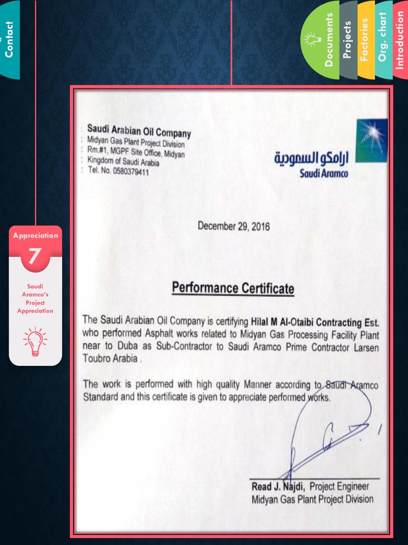 Catalogue & Contact – Hilal Alotaibi Contracting Est